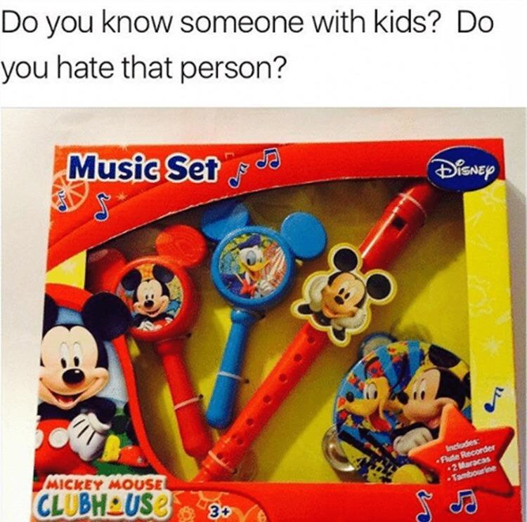 a parent's favorite gift - meme
