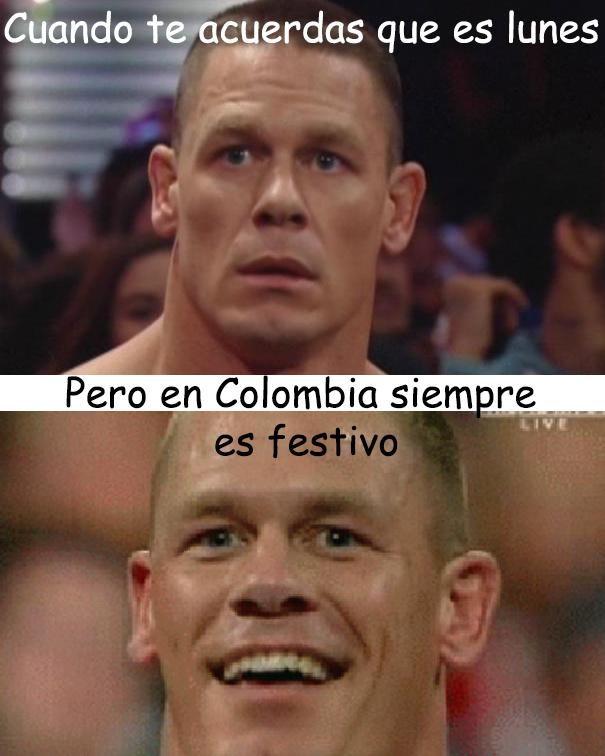 Colombia =D - meme