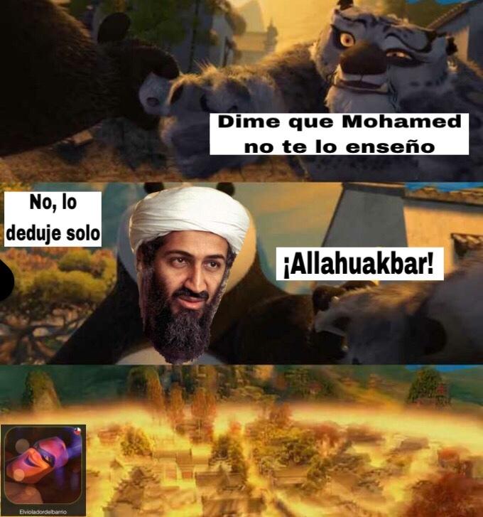 Ste Bin Laden - meme