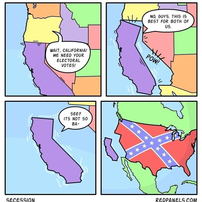 If the South Would've won we'd've had it made - meme