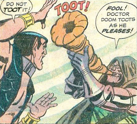 Doctor Doom does as he pleases - meme