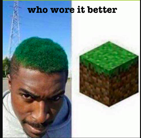 Who wore it better - meme