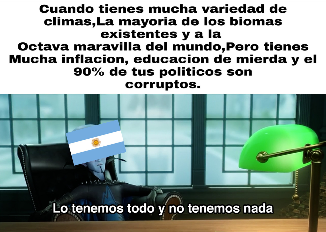 Argentina 2019 in a Nutshell - meme