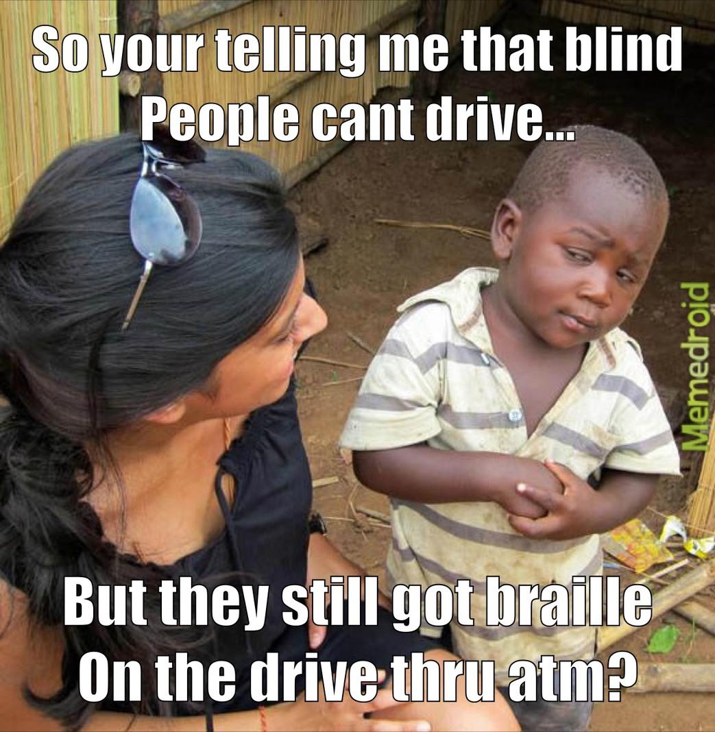 Sceptical Third World Kid - meme