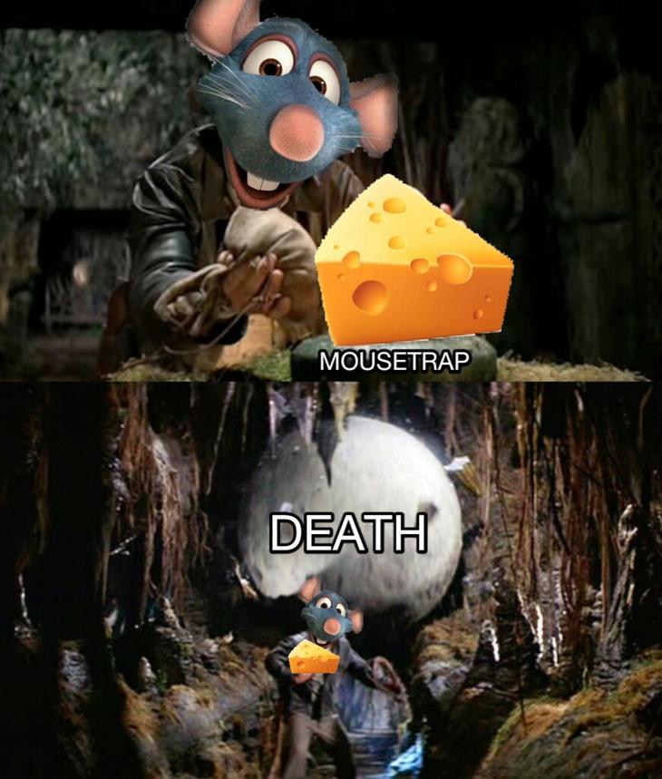 Indiana Mouse - meme