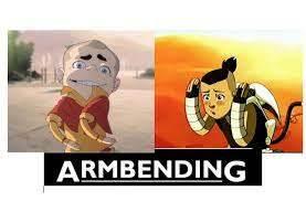 armbending - meme