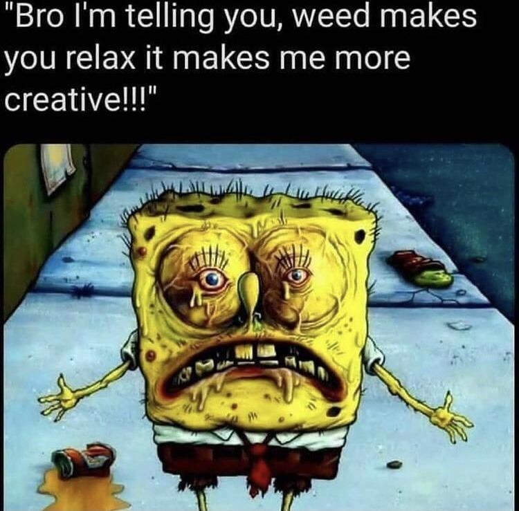 Weed - meme