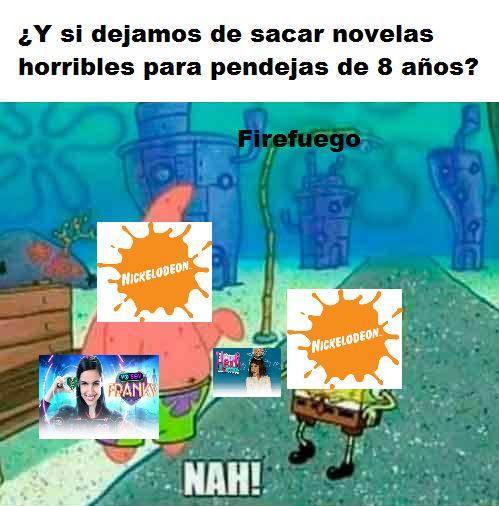 Nickelodeon en estos momentos - meme