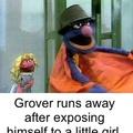 Ow Grover ya cheecky wanker