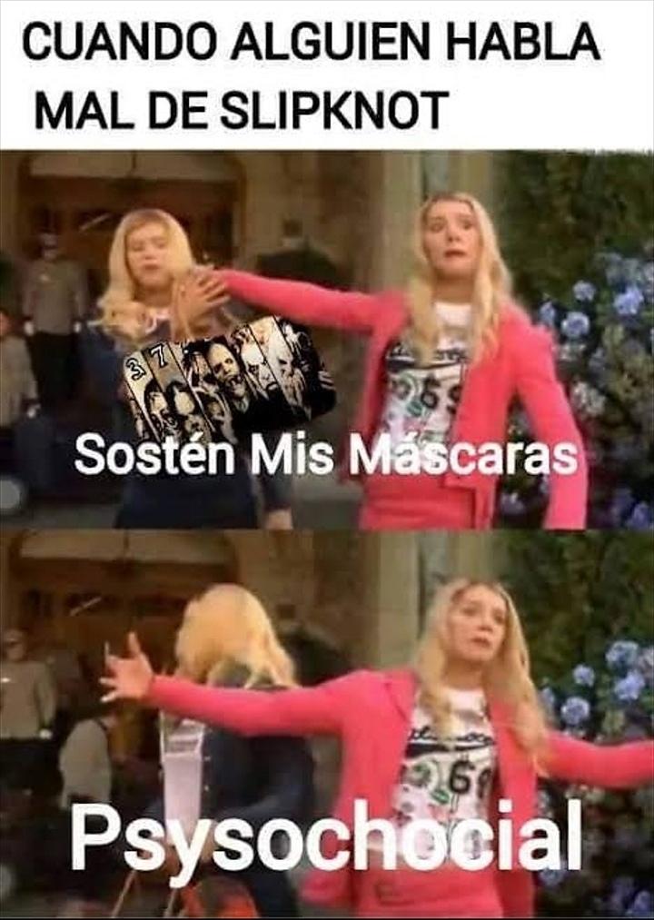 Viva el metal - meme