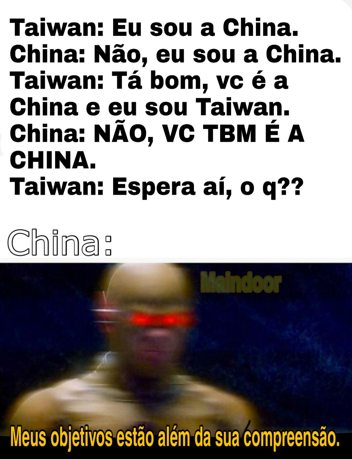 Everybody is China. - meme