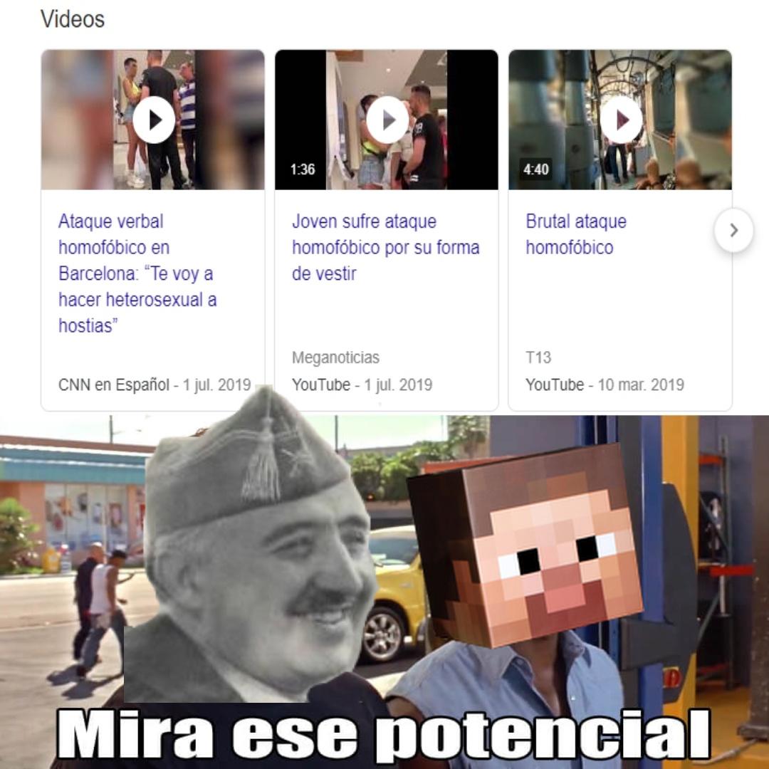 Arriba España! Joder! - meme