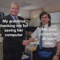 it was easy grandma