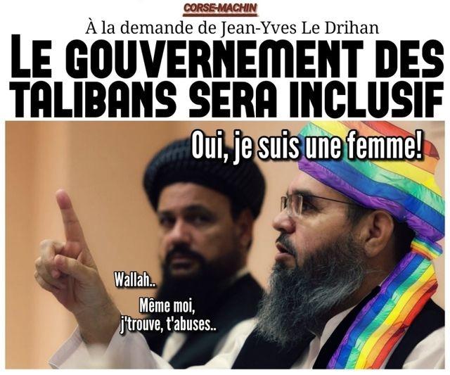 Talibans non binaires - meme