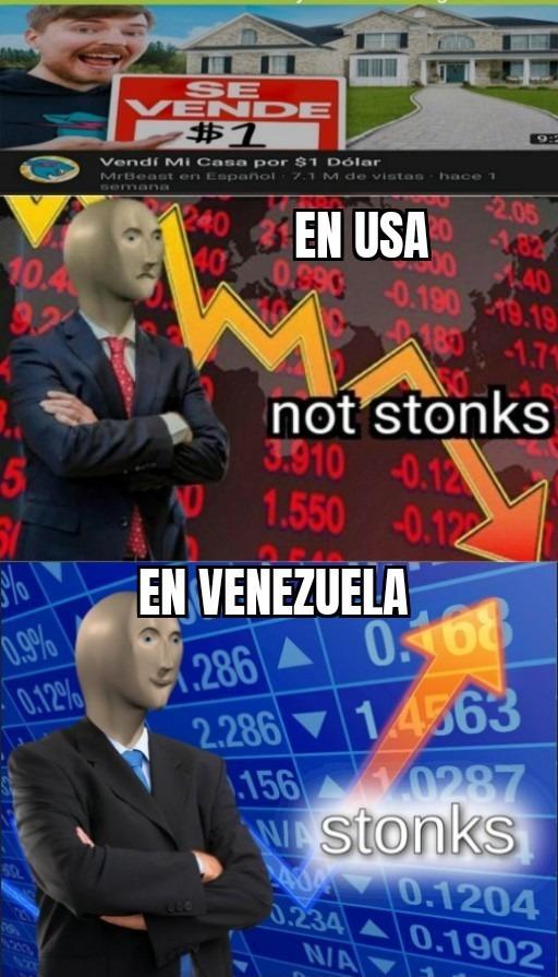 Solo con 1 dolar - meme