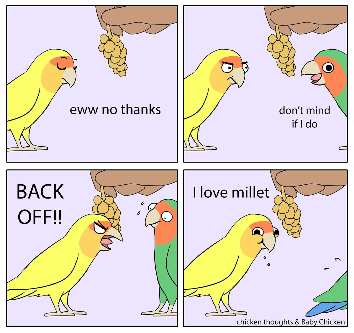 My millet B***CH - meme