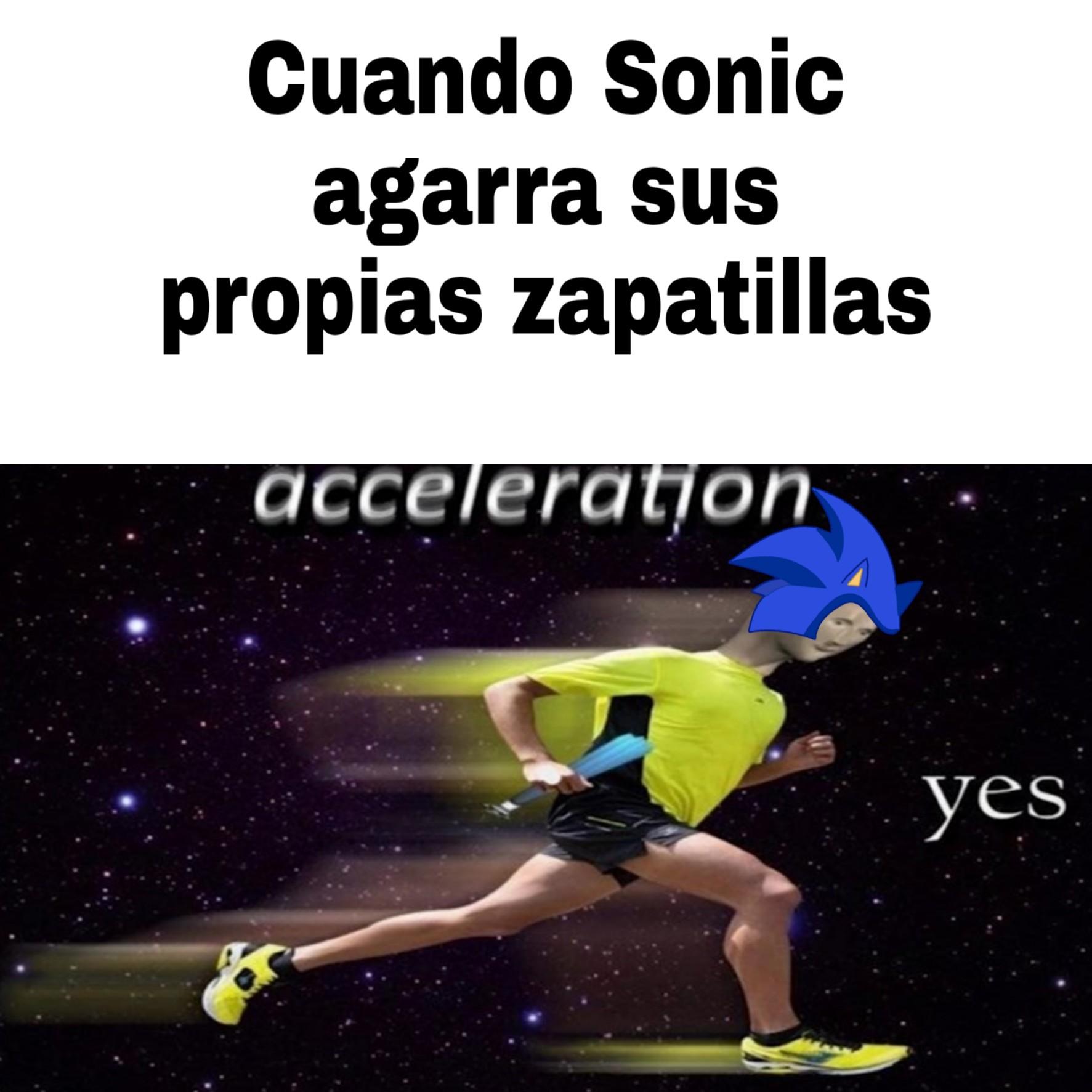 el item de velocidad - meme