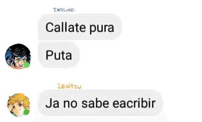 Callate pura - meme