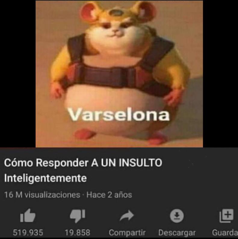 Varselona - meme