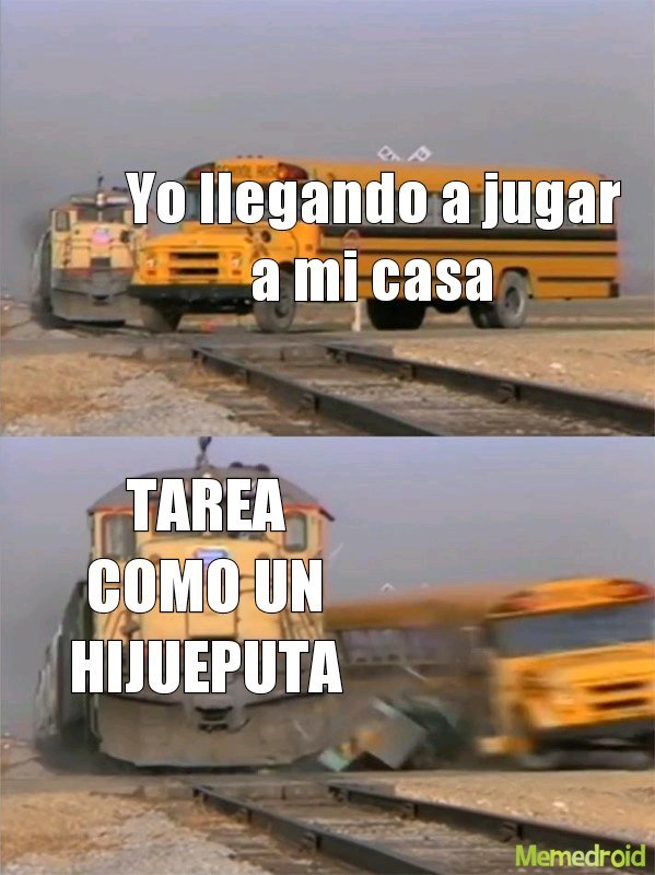 LA PUTA MADRE NO DE NUEVO CLASSROOM - meme
