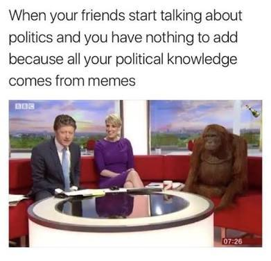 Ha politics - meme