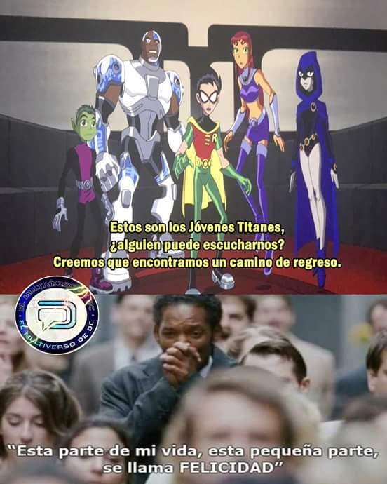 escena post creditos de teen titans go, podrian volver :'D - meme