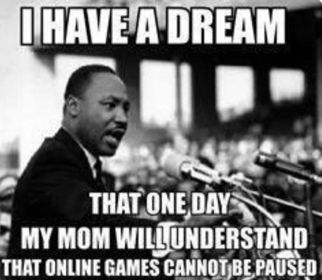 J'ai un rêve - meme