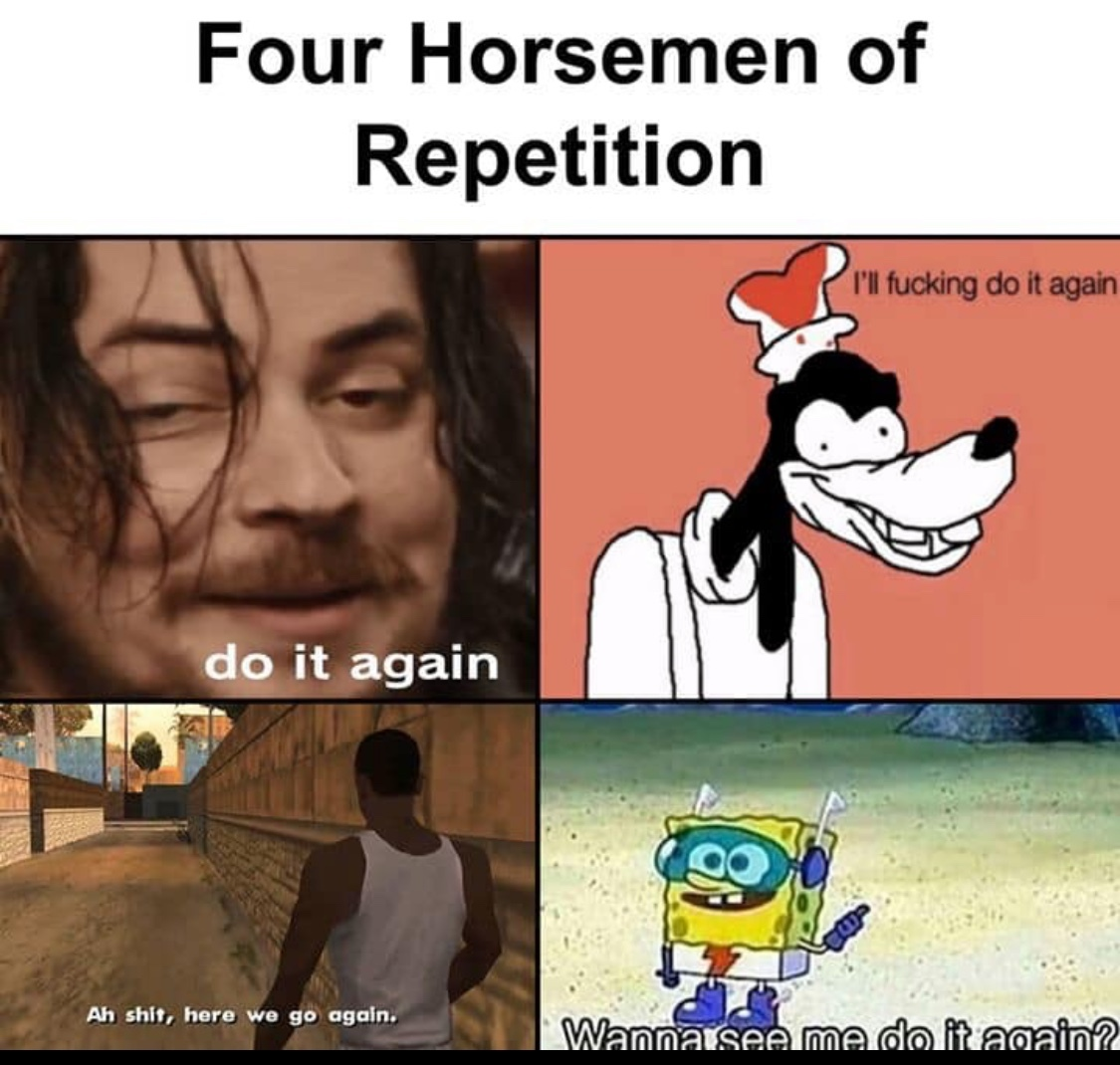 again - meme