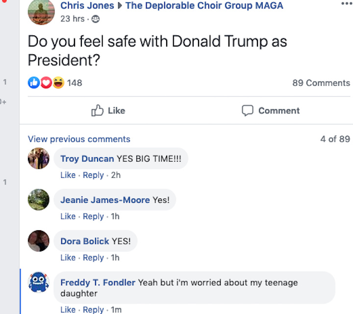 Trump likes em young too. - meme