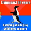 It's a sad day when you're too old to play with Legos