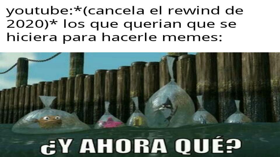 no habra rewind esta año - meme