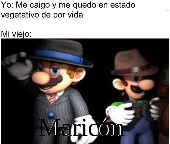 Maricón quien no sea normal - meme