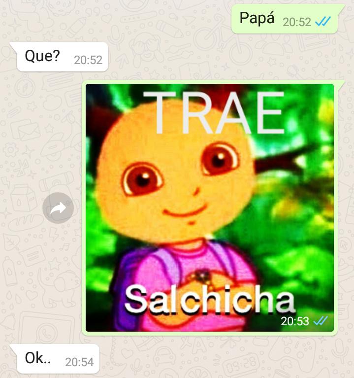 TRAE salchicha - meme