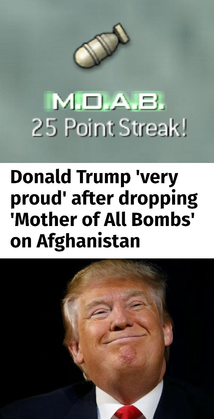 Trump's KDR is rising - meme