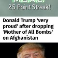 Trump's KDR is rising