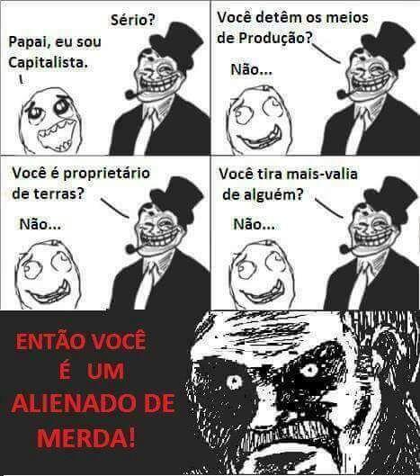 ALIENADO - meme