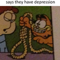 So I was reading Garfield today...