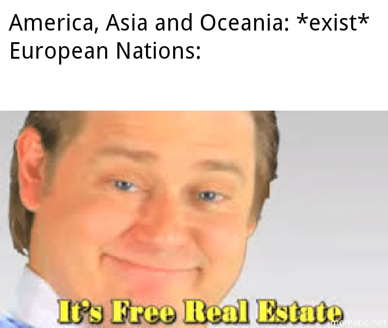 Someone said colonialism? - meme