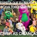 Barney comilão