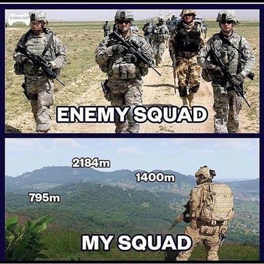 Your squad - meme