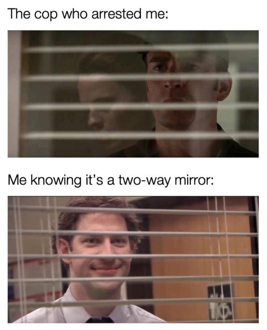 Jailhouse peek-a-boo - meme