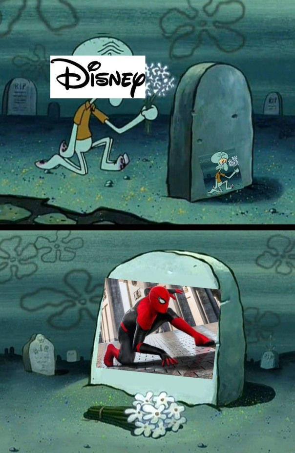 Adios spidey xdxdxd - meme