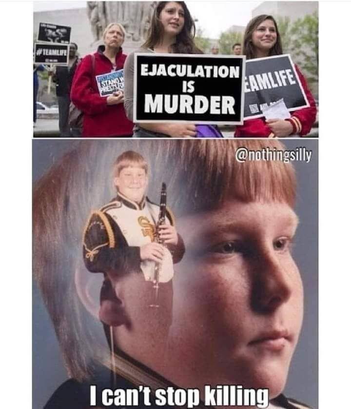 Ejaculation - meme
