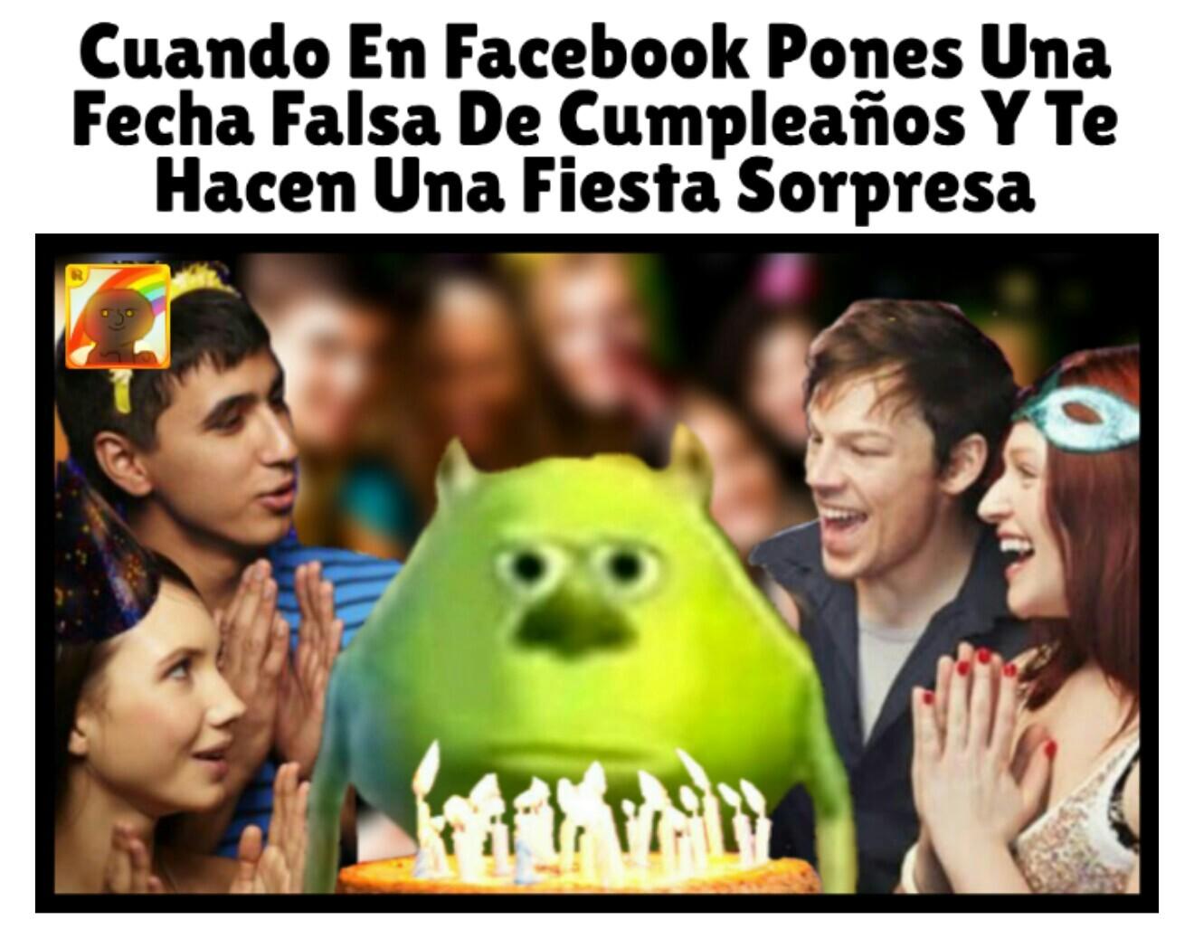 Fiesta Sorpresa - meme