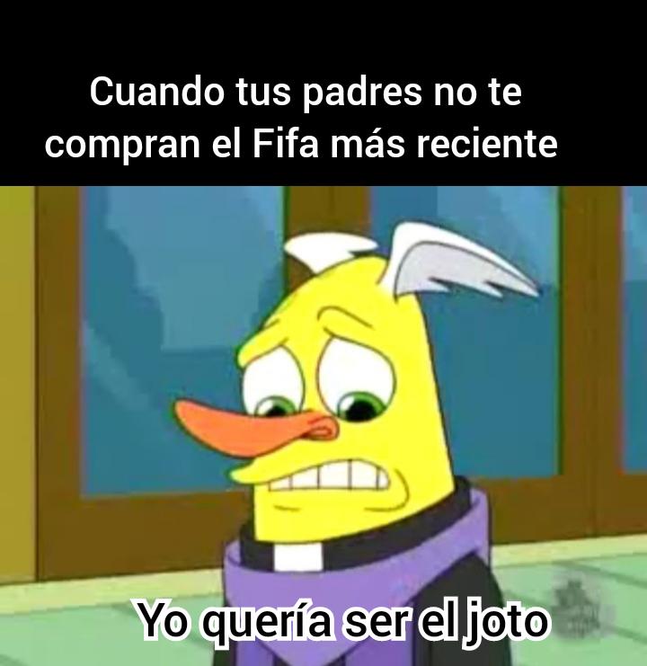 Mueble compra el Fifa más reciente - meme