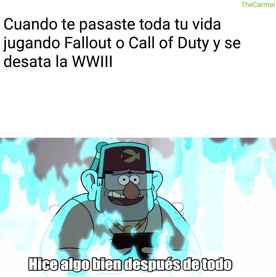 *Introducir música de acción* WWIII - meme