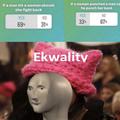 Ah yes eckwal