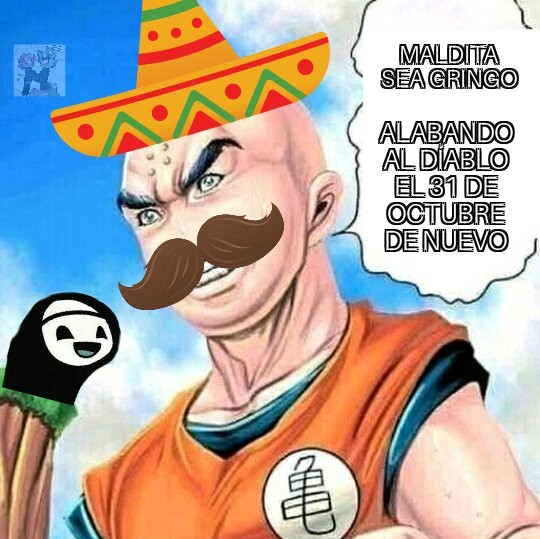 Maldita sea mexicano confundiendo que hallowen no es de EU de nuevo - meme