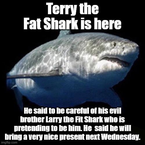 Terry the Fat Shark - meme