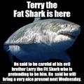 Terry the Fat Shark